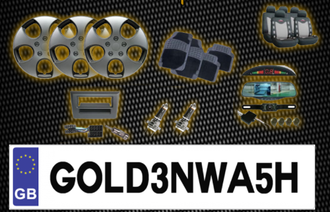 Replacement Number Plates and car accessories